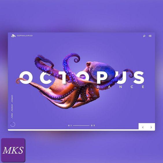 宽间距字体在网站界面设计中的经典案例